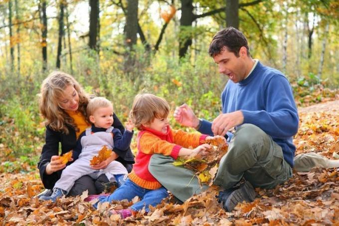 Как отдохнуть на природе с детьми