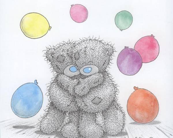 Как нарисовать мишку Тедди карандашом