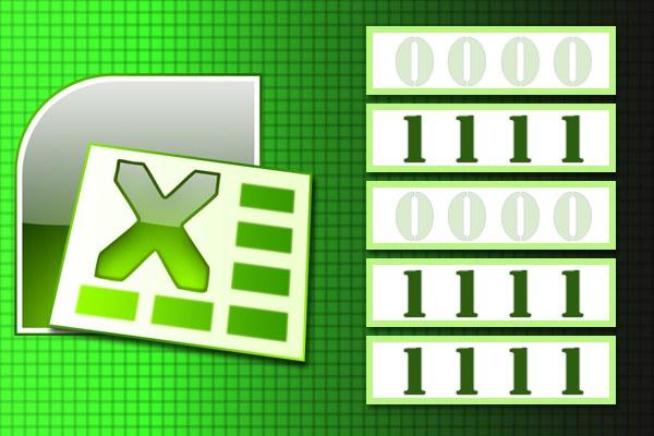 Как в Excel убрать нули