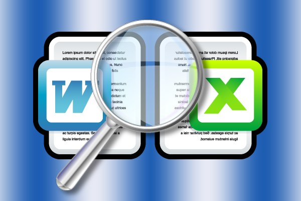 How to find words in documents