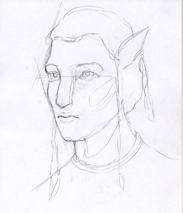 Как нарисовать <strong>Аватара</strong> <b>карандашом</b>