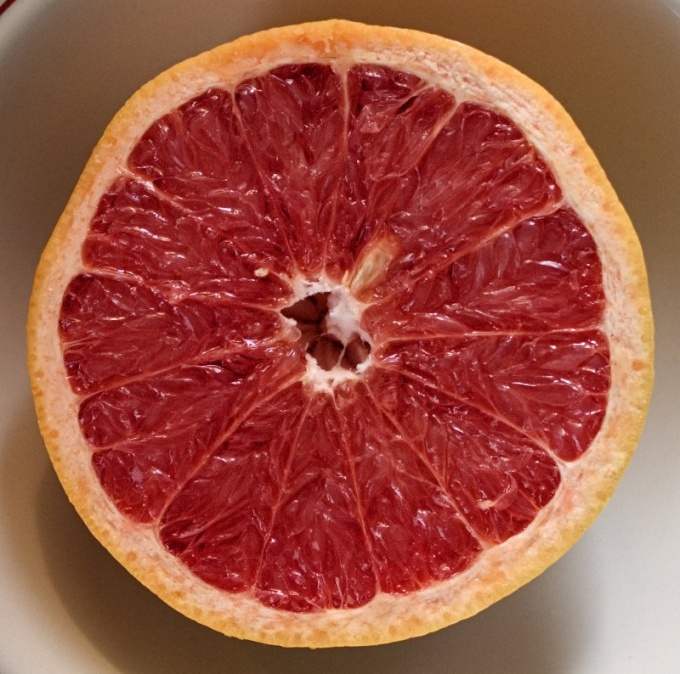 The grapefruit will speed up the burning of calories