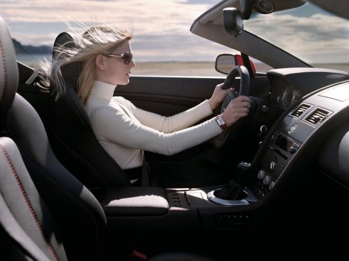 Как открыть категорию в водительских правах