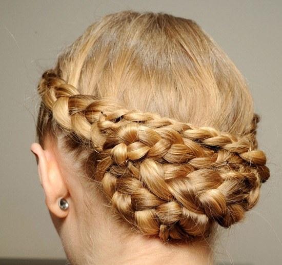 Как плести корзиночку из волос