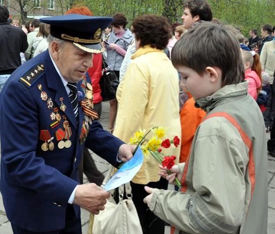 Как поздравить ветеранов войны с 9 мая