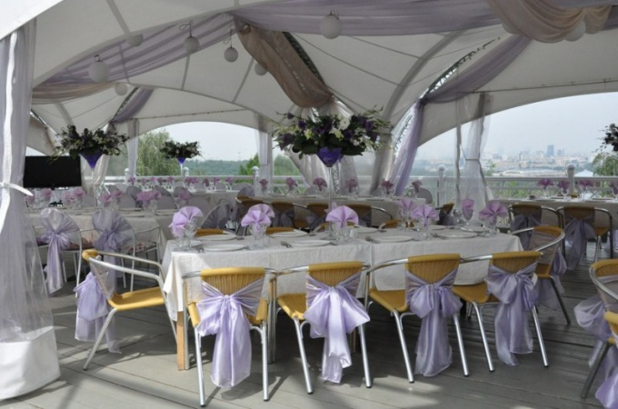 Как выбрать ресторан с летней верандой для свадьбы