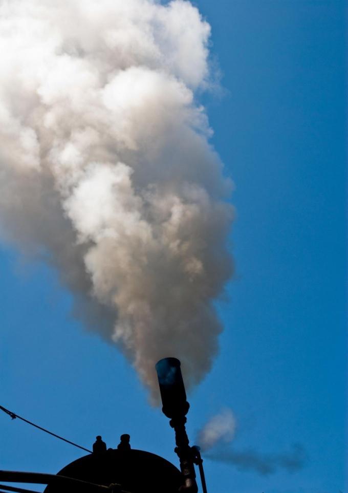 Как объяснить появление белого дыма