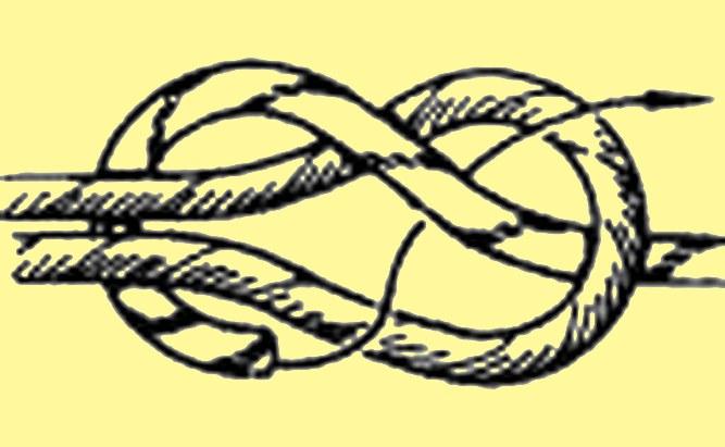 Сделайте петли на концах шнуров