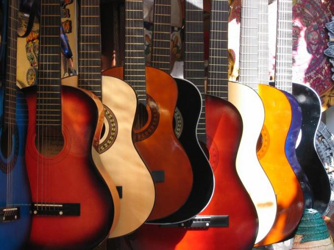 Как повесить гитару на стену