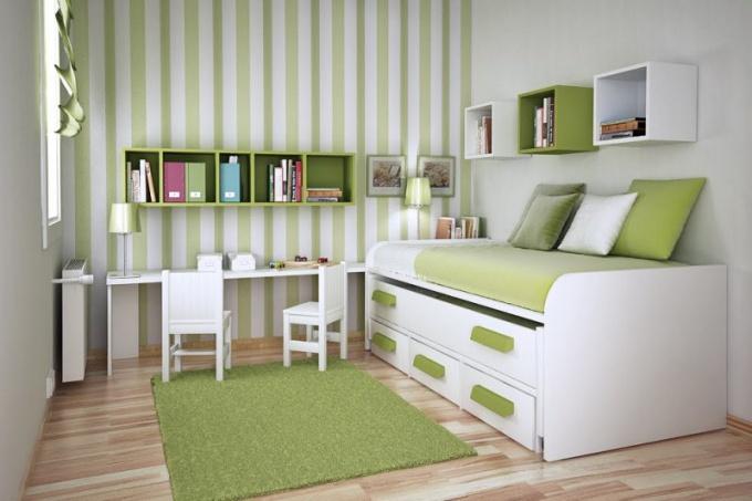 Как выбрать обои для маленькой комнаты
