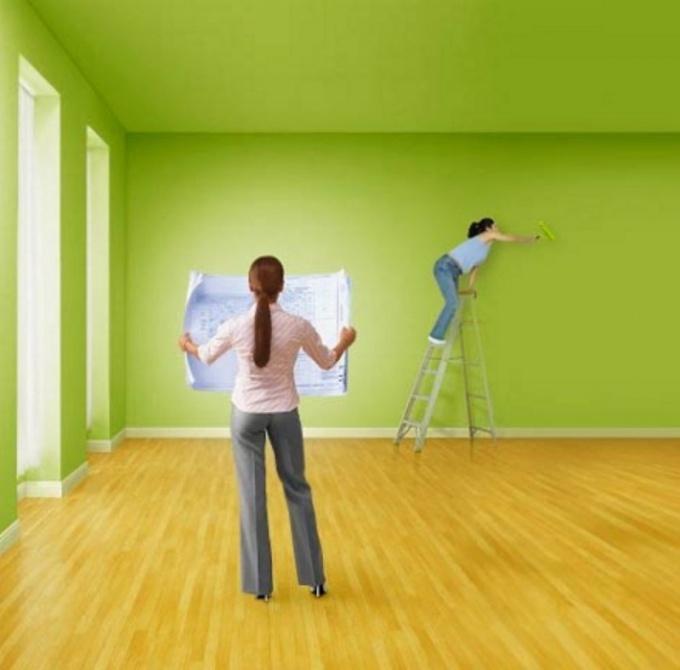 Как очистить стену быстро