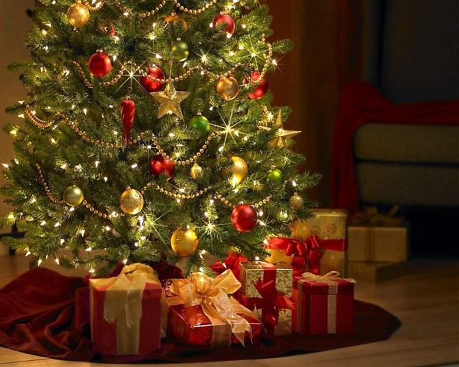 Как наряжать елку в Новый год