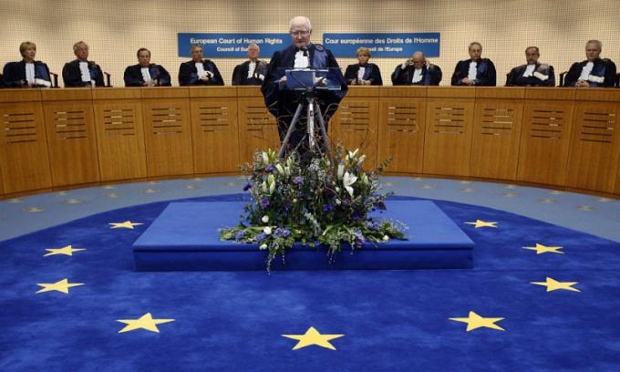 Как написать в Европейский суд по правам человека