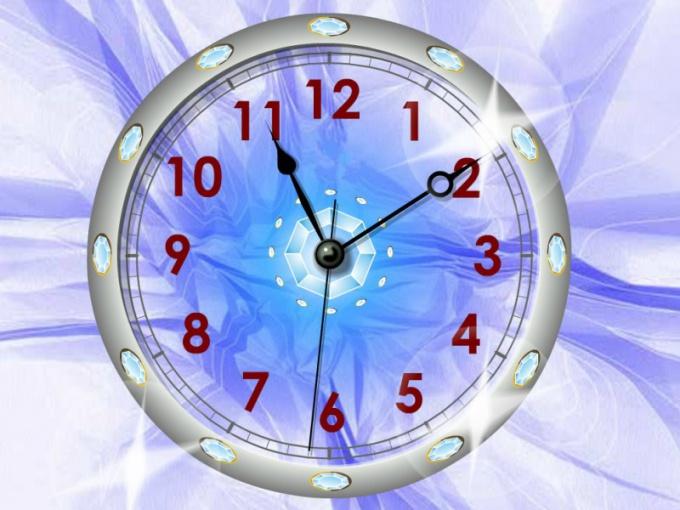 Как установить часы на рабочем столе