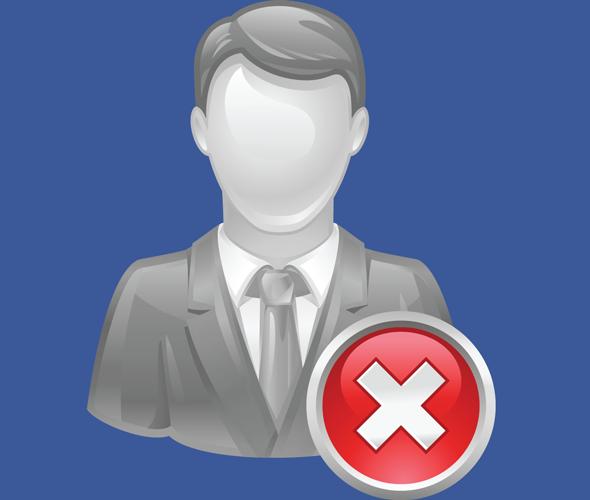 Как удалиться с facebook