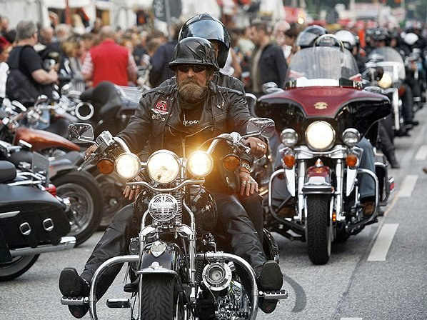 Как увидеть Дни Harley-Davidson в Гамбурге