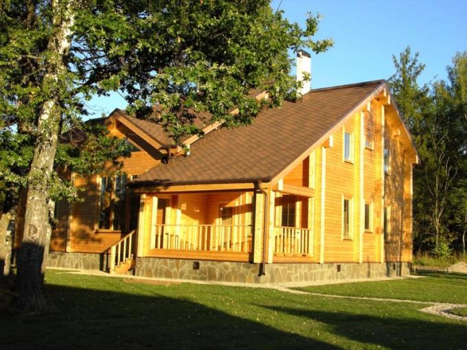 Как построить из клееного бруса дом