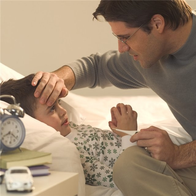 Как откачать мокроту у ребенка
