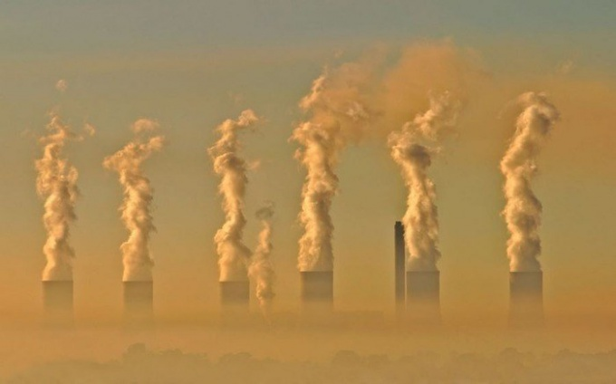 Как образуется смог