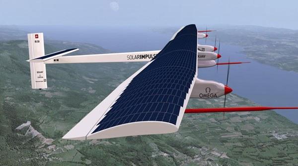 Как работает самолет на солнечной энергии