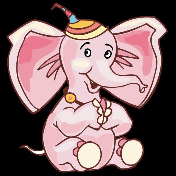 Как нарисовать слоненка