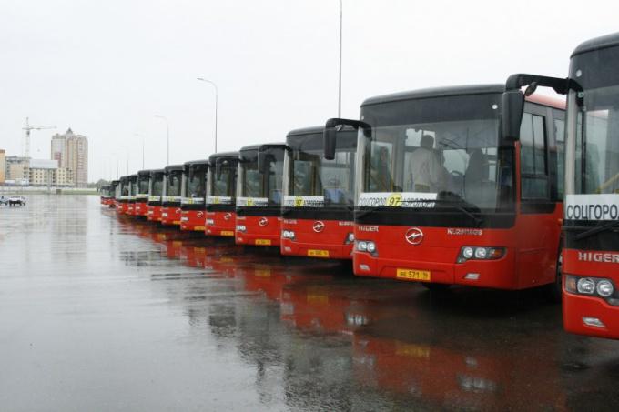 Как ходят автобусы до Екатеринбурга