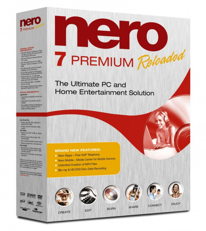 How to clean the disk using Nero