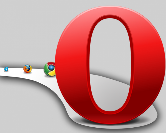 How to find the settings in Opera