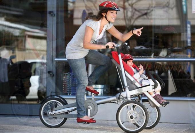Как отправиться на велосипедную прогулку с детьми