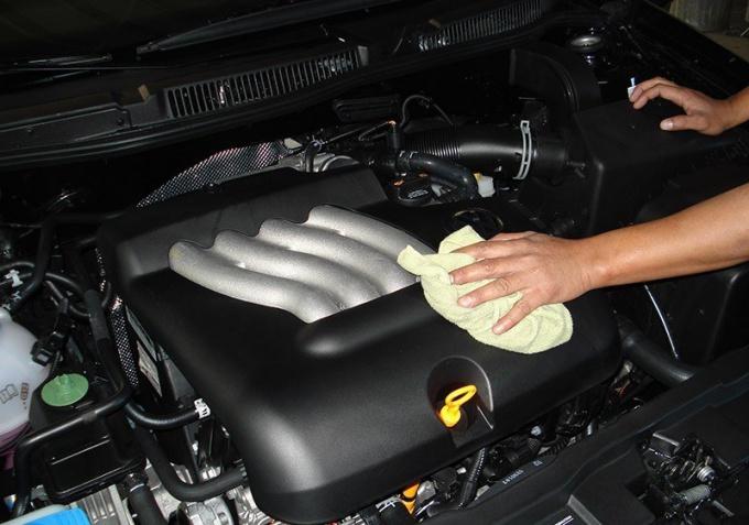 Как вымыть двигатель