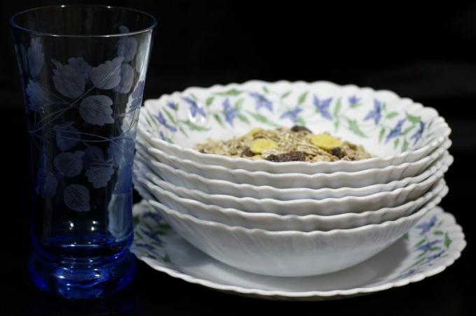 Как отмыть тарелки