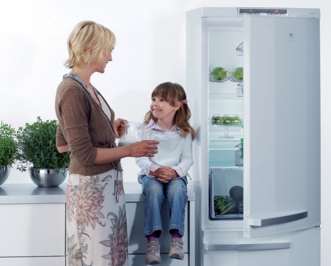 How to adjust a refrigerator door