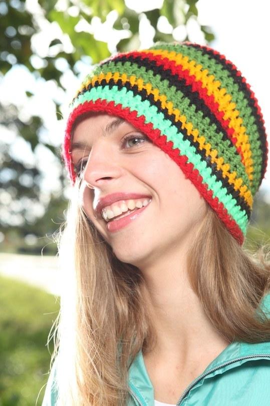 Как носить шапку-чулок