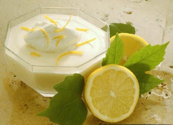 Как приготовить десерт со сливками и лимоном