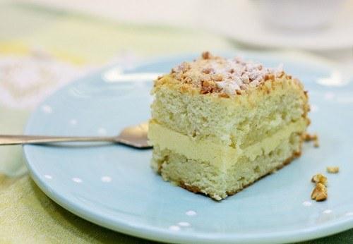 Как сделать бисквитный торт с кремом