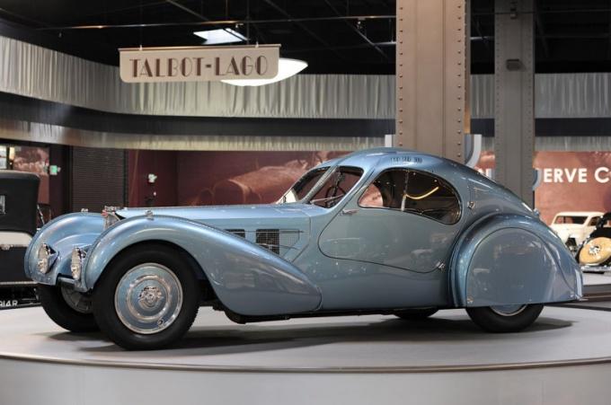 Bugatti Type 57SC Atlantic - самый дорогой автомобиль в мире