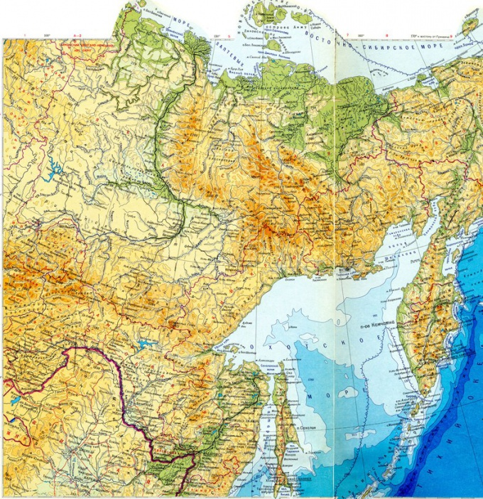 Find the borders of Siberia