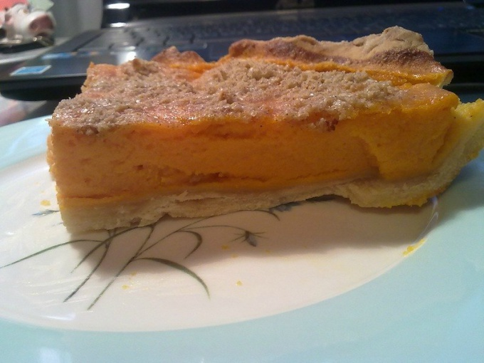 Как приготовить пирог из тыквы