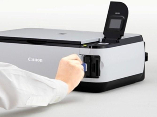 Как поменять картридж на Canon Pixma