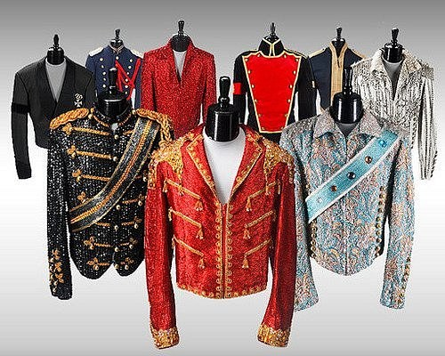 Как продают костюмы Джексона