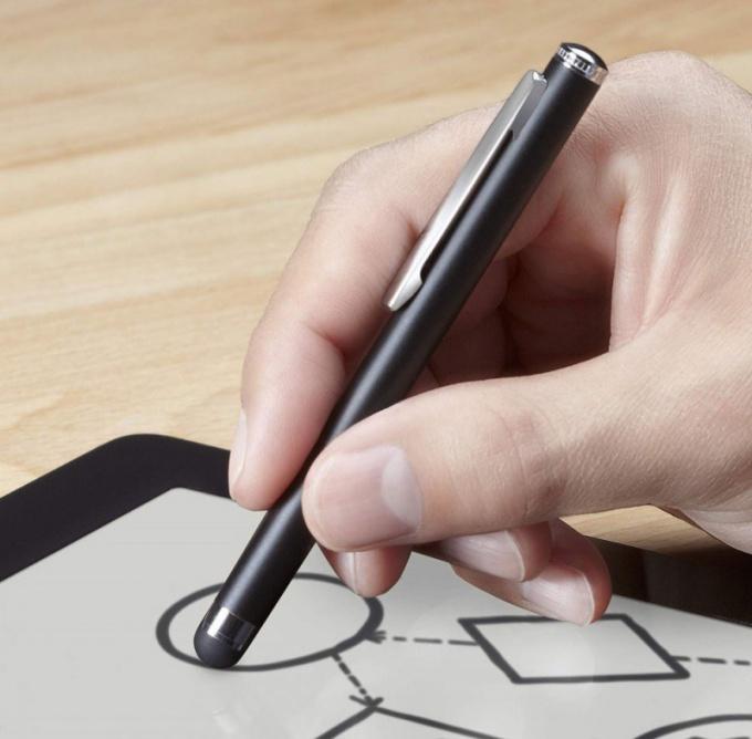 Как будет работать новый стилус от Apple
