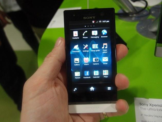 Какие есть новые модели Sony Ericsson