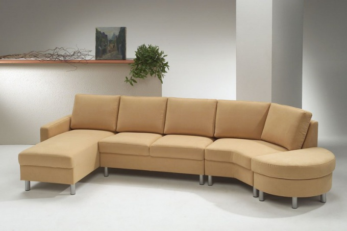 Как обтянуть диван
