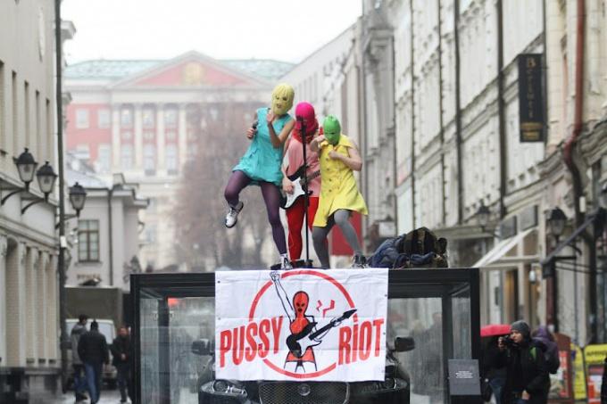 Кто такие Pussy Riot