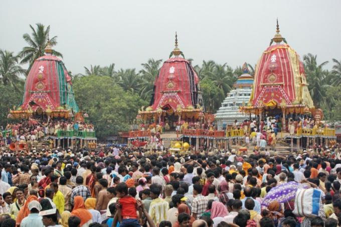 Как отмечают Ратха-Ятра в Индии