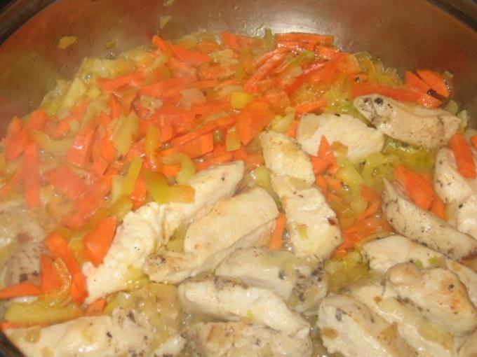 Как приготовить куриное рагу