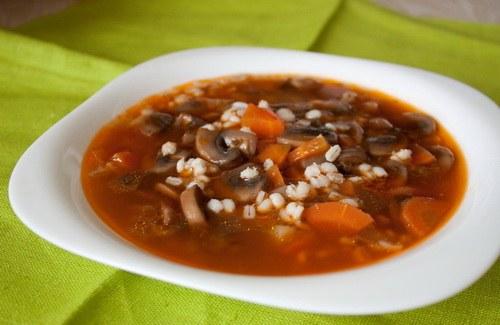 Как сделать грибной суп по-старомосковски