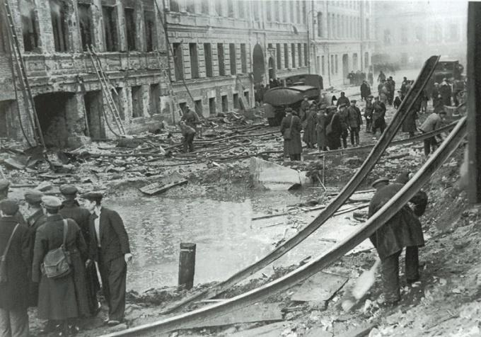 Как выглядел Ленинград в дни блокады