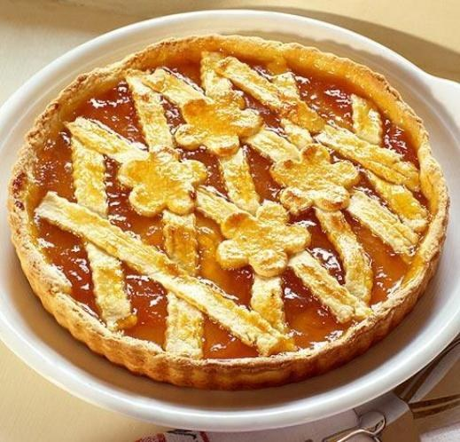 How to bake an apricot pie