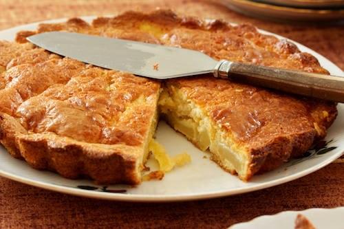 Как приготовить пирог с яблоками и лимоном
